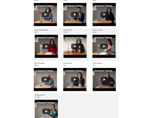 Interviews from the participants at the Artenprise Training Week